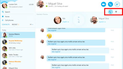 Ya llega el traductor simultáneo de Skype