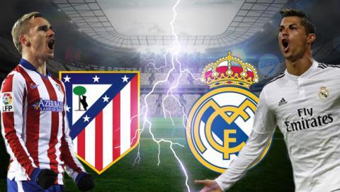 Cómo ver online y en directo el Atlético de Madrid vs Real Madrid de Liga en Internet por streaming