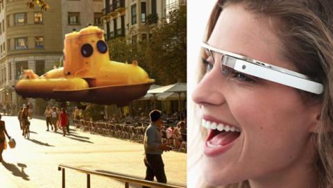 google glass hologramas