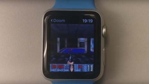 Desarrolladores de Facebook ejecutan Doom en un Apple Watch