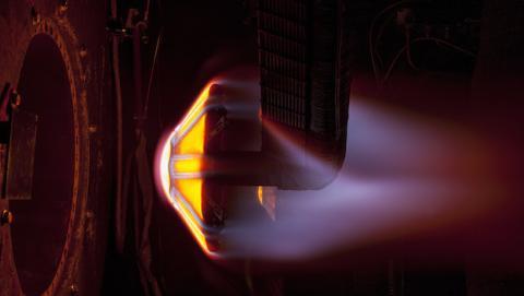 NASA prueba con éxito escudos térmicos para entrar en Marte