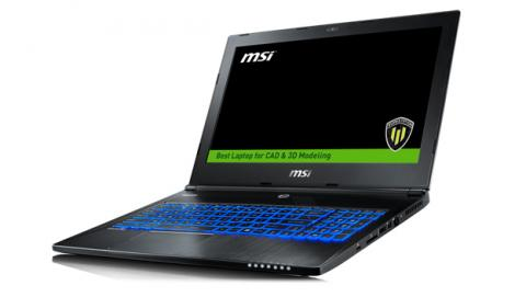 MSI presenta la workstation WS60 Series, ligera y potente