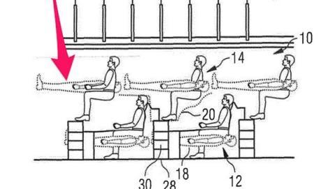 Airbus diseña avión pasajeros viajarán literas
