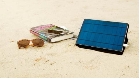 Solartab, cargador solar para Apple iPhone y iPad