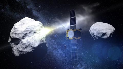 La NASA y la ESA se unen para salvar la Tierra de asteroides