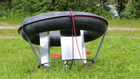 Esta turbina low cost genera electricidad en el agua