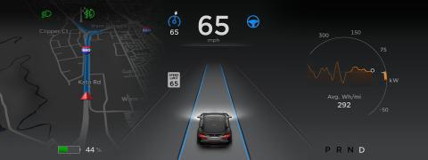 Tesla lanza Autopilot