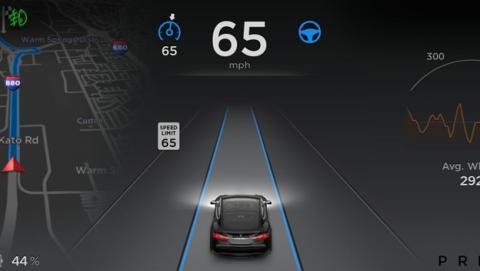 Así funciona Autopilot piloto automático Tesla
