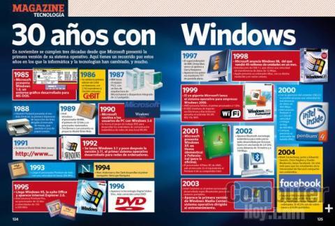 30 años con Windows