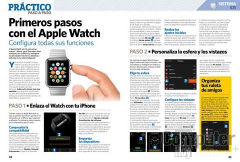 Primeros pasos con el Apple Watch