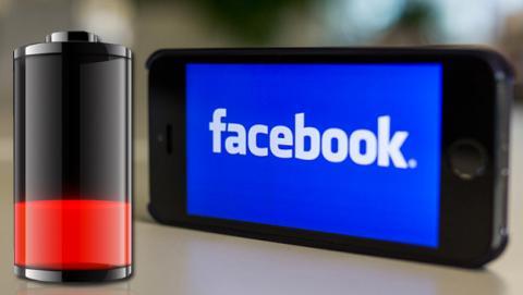 La aplicación de Facebook gasta toda la batería de tu iPhone
