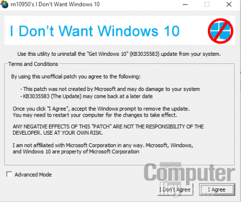 evitar actualización windows 10