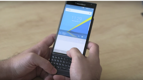 Blackberry PRIV confirma todas sus especificaciones en vídeo