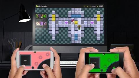 AirConsole convierte tu PC en una consola y tu móvil en un gamepad