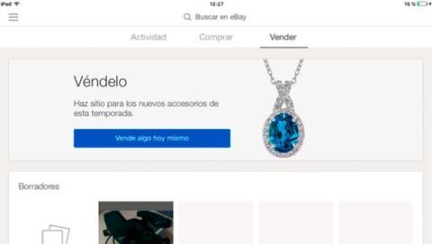 Con la nueva app de eBay vender es muy sencillo