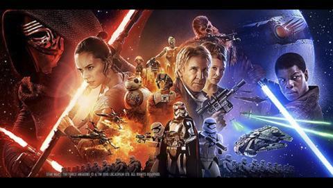 Entradas a la venta de Star Wars VII El despertar de la Fuerza