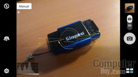 Modo manual cámara Asus ZenFone 2 ZE551ML