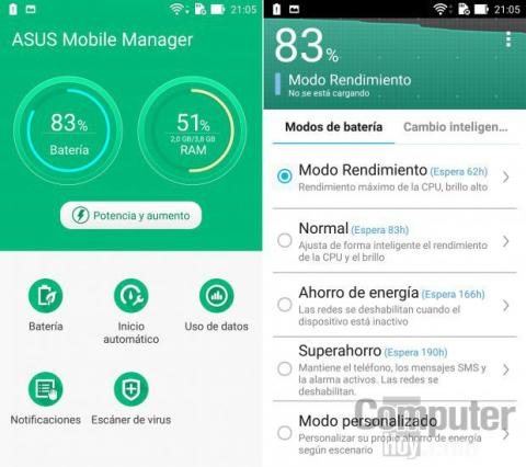 Asus Mobile Manager Asus ZenFone 2 ZE551ML