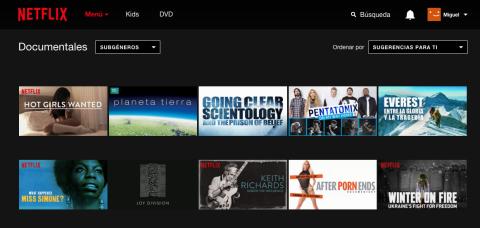 Documentales Netflix