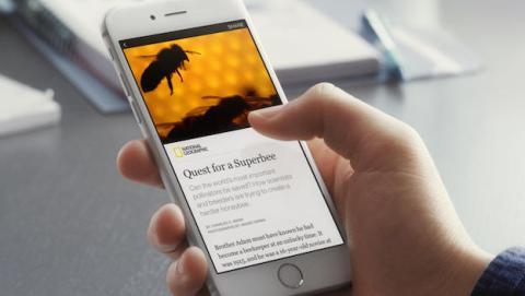 Facebook quiere que leas las noticias in app