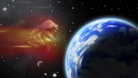 Un meteorito de gran tamaño rozará la Tierra en Halloween