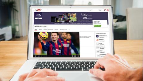 Ya puedes ver la Champions League en directo por Youtube
