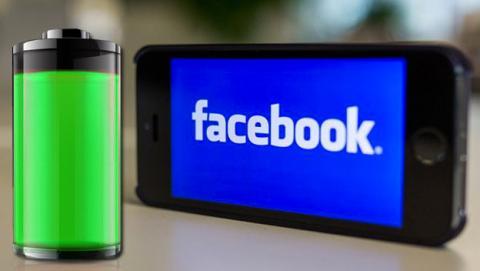 consumo batería app Facebook