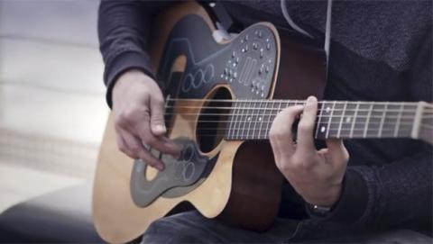 Convierte tu guitarra en una orquesta electrónica con Acpad