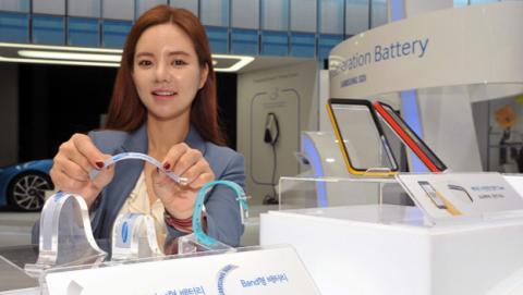 Samsung presenta una nueva generación de baterías flexibles