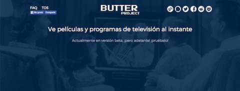 Butter, la alternativa legal de los creadores de Popcorn Time