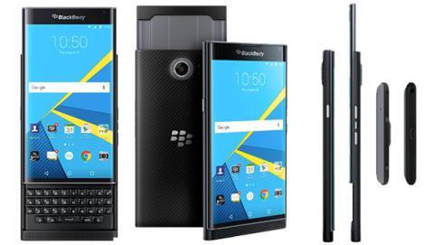 Blackberry Priv en el mercado el 6 de noviembre en 699 dólares