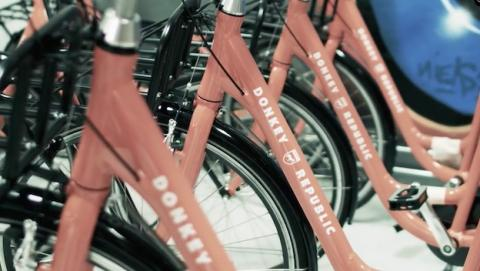AirDonkey, alquiler de bicicletas al más puro estilo Uber