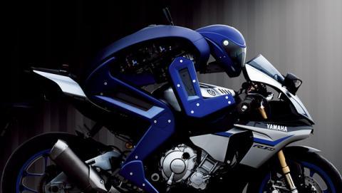 Motobot, el robot de Yamaha que puede pilotar una moto