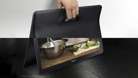 Galaxy View, la nueva tablet de Samsung de 18,4 pulgadas