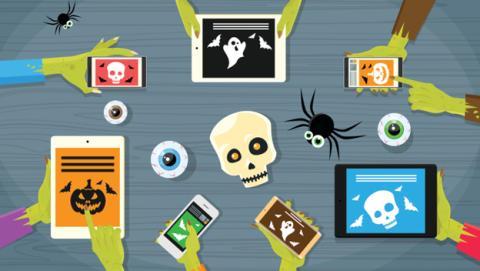 apps de miedo halloween