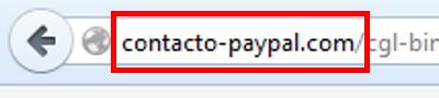 ¡Alerta! Una página web falsa roba las claves de PayPal