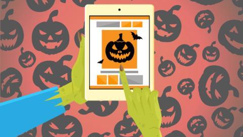 mejores aplicaciones felicitar Halloween