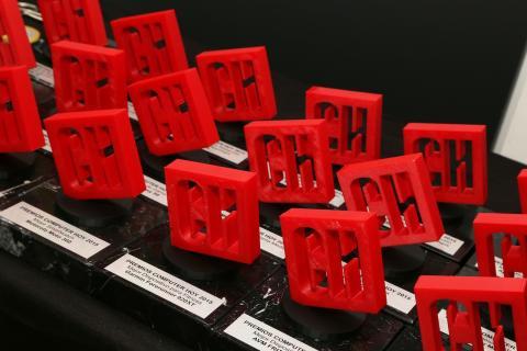Ambiente y Photocall de los premios Computer Hoy