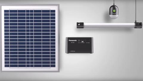 Sistema de energía solar portátil para iluminar África y Asia