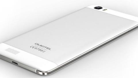 Oukitel K6000 es un smartphone chino con una gran batería.