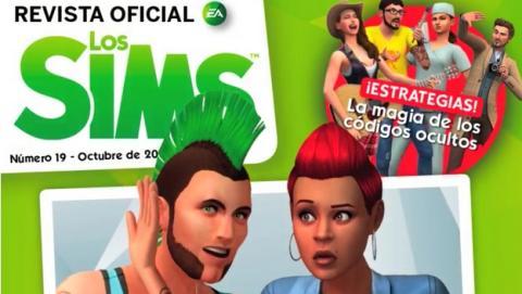 Los Sims Revista Oficial Número 19, descárgala gratis