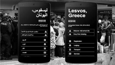 Google ha creado el proyecto Crysis Info Hub para ayudar a los refugiados