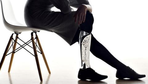 Las prótesis hechas con impresoras 3D abaratan costes y facilitan la personalización.