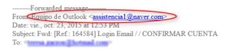 ¡Cuidado! Un ataque de phishing roba las claves de Outlook