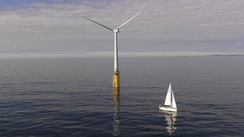 Escocia tendrá el parque eólico flotante más grande del mundo