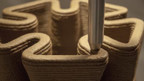 Pylos, una impresora 3D que usa tierra para fabricar objetos