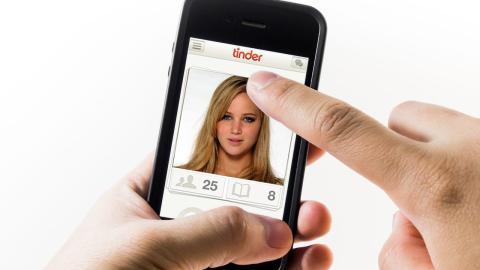 aplicación de Tinder