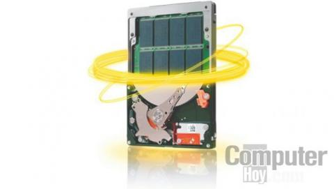 los discos SSHD son una mezcla de SSD y disco duro tradicional