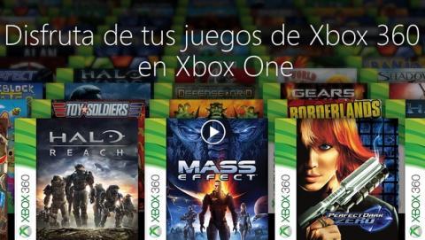 Estos son los 104 juegos de Xbox 360 que funcionan en Xbox One