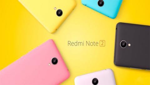 Xiaomi Redmi Note 2 rebaja su precio hasta los 135 euros